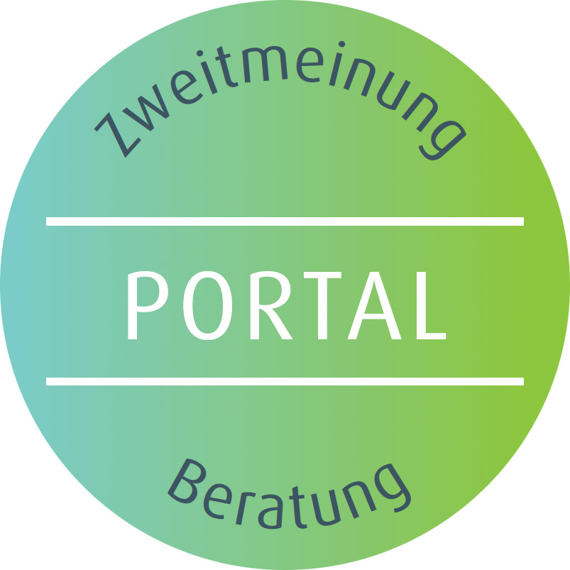 Button Portal Zweitmeinung